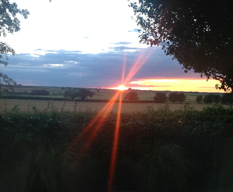 Ely Sunset Photograph
